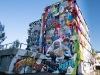 Street art op het Hopmangebouw langs de A12 bij Zoetermeer