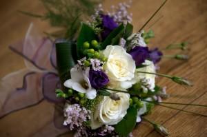 Bij een trouwerij horen bloemen!