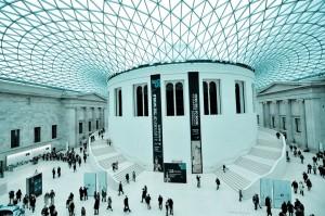 Hal van het British Museum in Londen