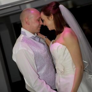 Eerste dans van het bruidspaar