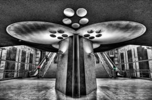 Station Blaak in Rotterdam