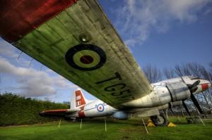 Luchtvaartmuseum in Newark, Engeland
