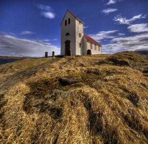 Kerkje in IJsland
