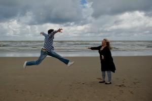 Engagementshoot in Noordwijk aan Zee
