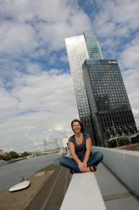 Fotoshoot op de Kop van Zuid in Rotterdam