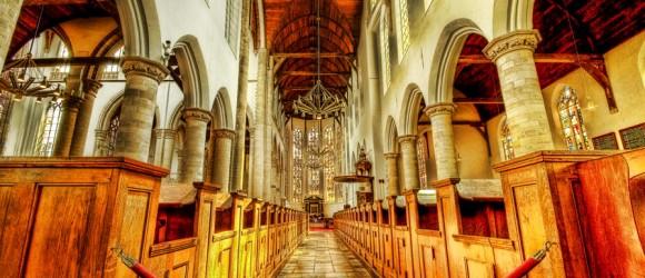Oude Kerk in Delft