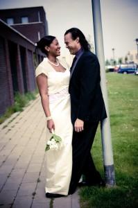 Ontspannen trouwfotografie Rotterdam en omstreken