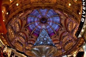 Kerst in Galeries Lafayette