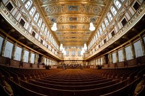 De Gouden Zaal in de Musikverein van Wenen