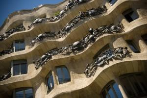 Casa Batlló ontworpen door Gaudí