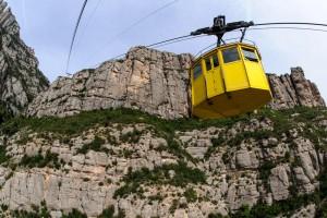 De gondel naar Montserrat