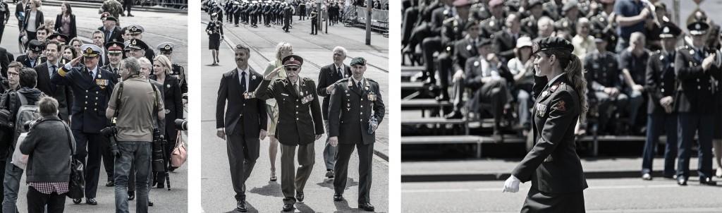 Koning Willem-Alexander Ted Meines defilé soldaat