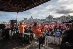 Nieuwjaarsduik Scheveningen 2018