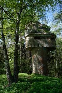 Uitkijkpost in de bossen rond Tallinn