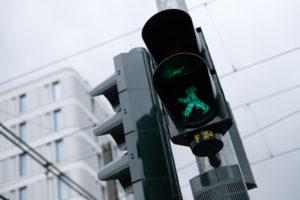 Berlijn Ampelmann stoplicht