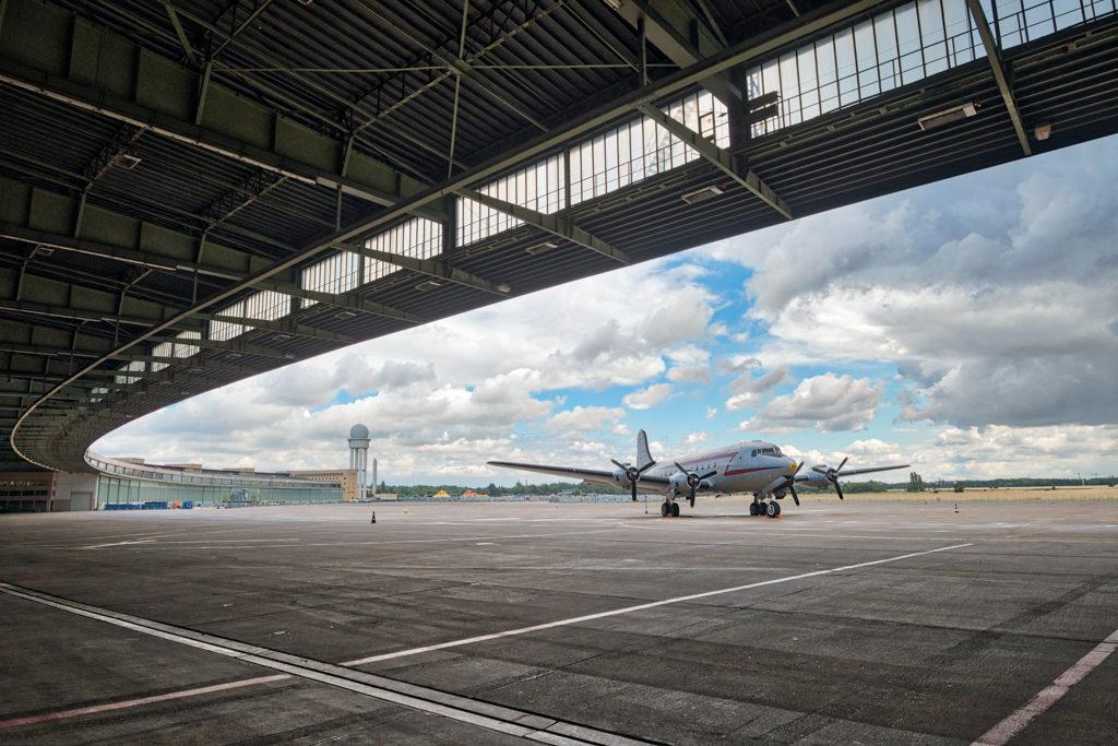 Rosinenbomber op Tempelhof