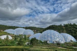Het Eden Project in Cornwall, Engeland
